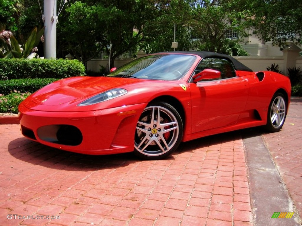 Rosso Corsa (Red) 2006 Ferrari F430 Spider Exterior Photo #52855239