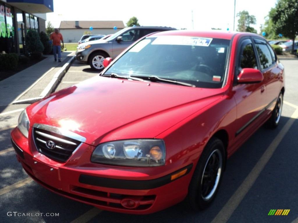Rally Red Hyundai Elantra. Hyundai Elantra GT Hatchback