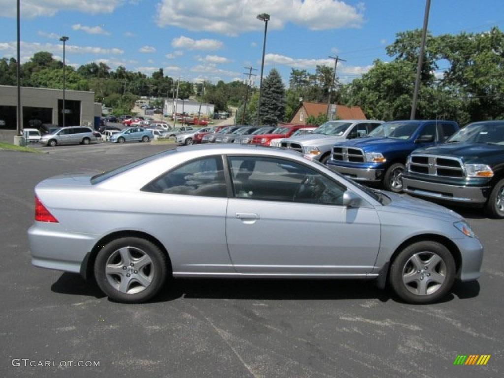 Satin Silver Metallic 2005 Honda Civic Ex Coupe Exterior Photo 52856574 Gtcarlot Com