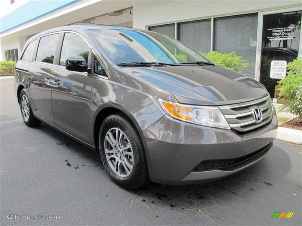 2011 Smoky Topaz Metallic Honda Odyssey EX-L #52816637   GTCarLot.com ...