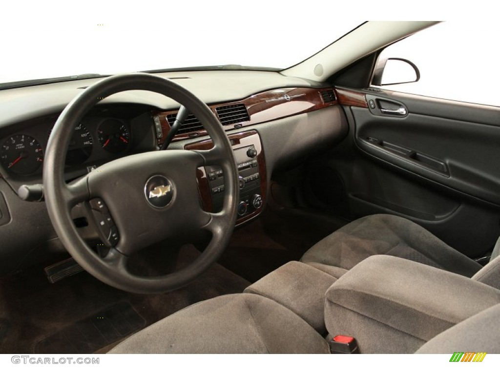 Ebony Black Interior 2007 Chevrolet Impala Ls Photo 52859160