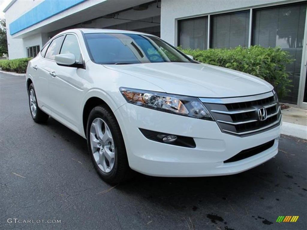 2011 Taffeta White Honda Accord Crosstour Ex L 52816642