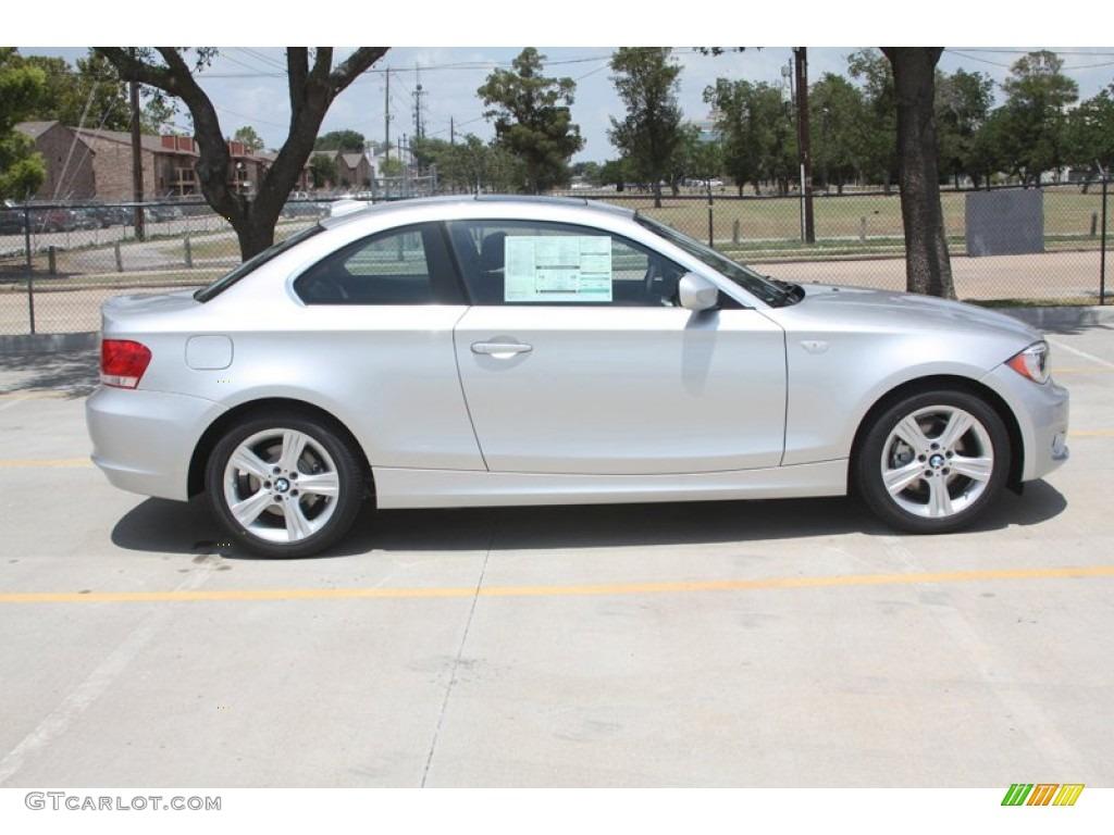 Titanium Silver Metallic 2012 BMW 1 Series 128i Coupe Exterior