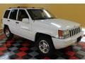 1996 Stone White Jeep Grand Cherokee Limited 4x4  photo #1