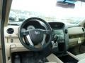 2011 Honda Pilot Beige Interior Dashboard Photo