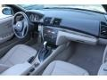 2008 BMW 1 Series Taupe Interior Dashboard Photo