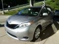 2011 Silver Sky Metallic Toyota Sienna LE  photo #5