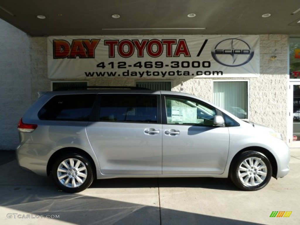 2011 Sienna LE AWD - Silver Sky Metallic / Light Gray photo #1