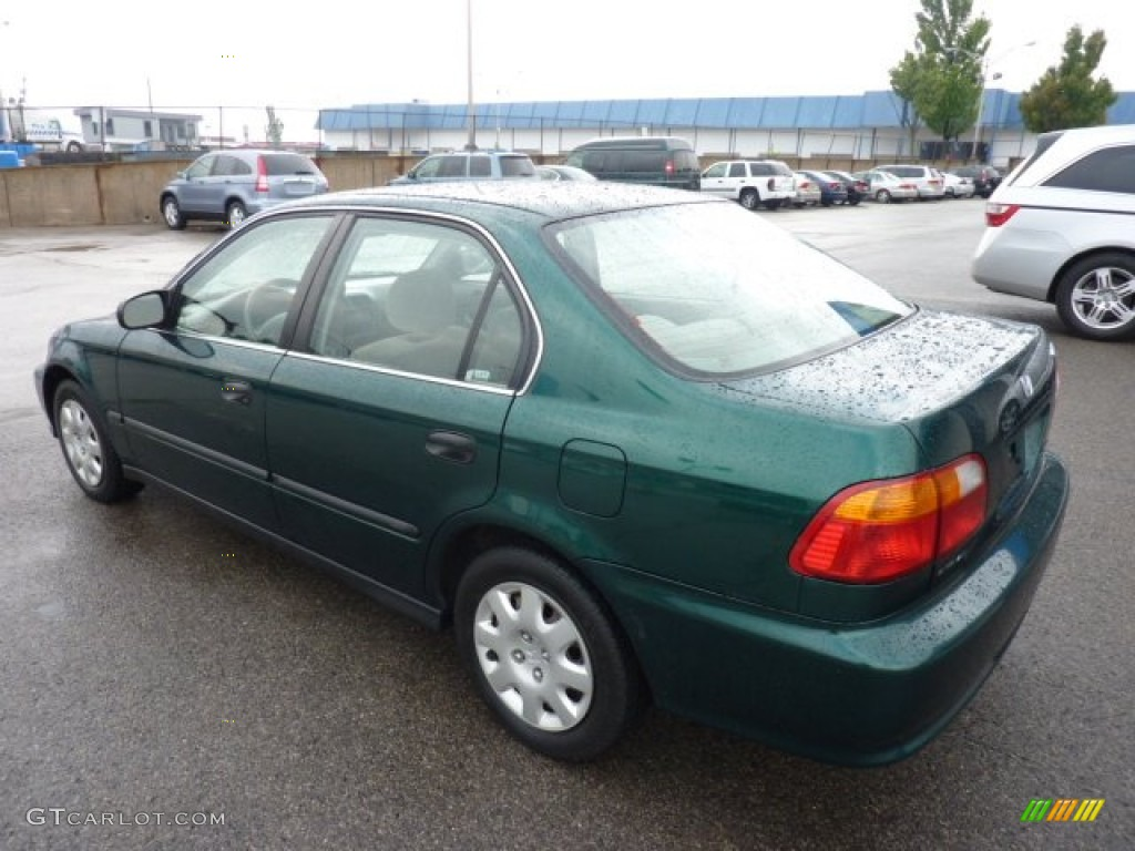 Clover Green Pearl 1999 Honda Civic LX Sedan Exterior Photo #52899957 ...