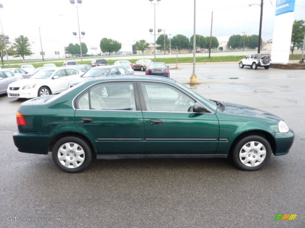Clover Green Pearl 1999 Honda Civic Lx Sedan Exterior Photo 52899999 Gtcarlot Com