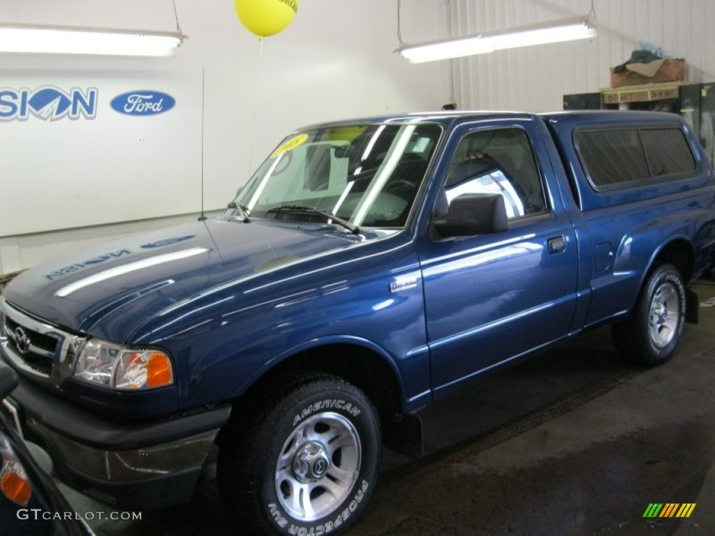 2008 b series truck b2300 regular cab vista blue metallic medium dark flint