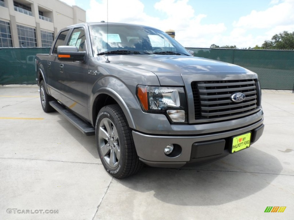 2011 sterling grey metallic ford f150 fx2 supercrew 52817293 car color galleries. Black Bedroom Furniture Sets. Home Design Ideas