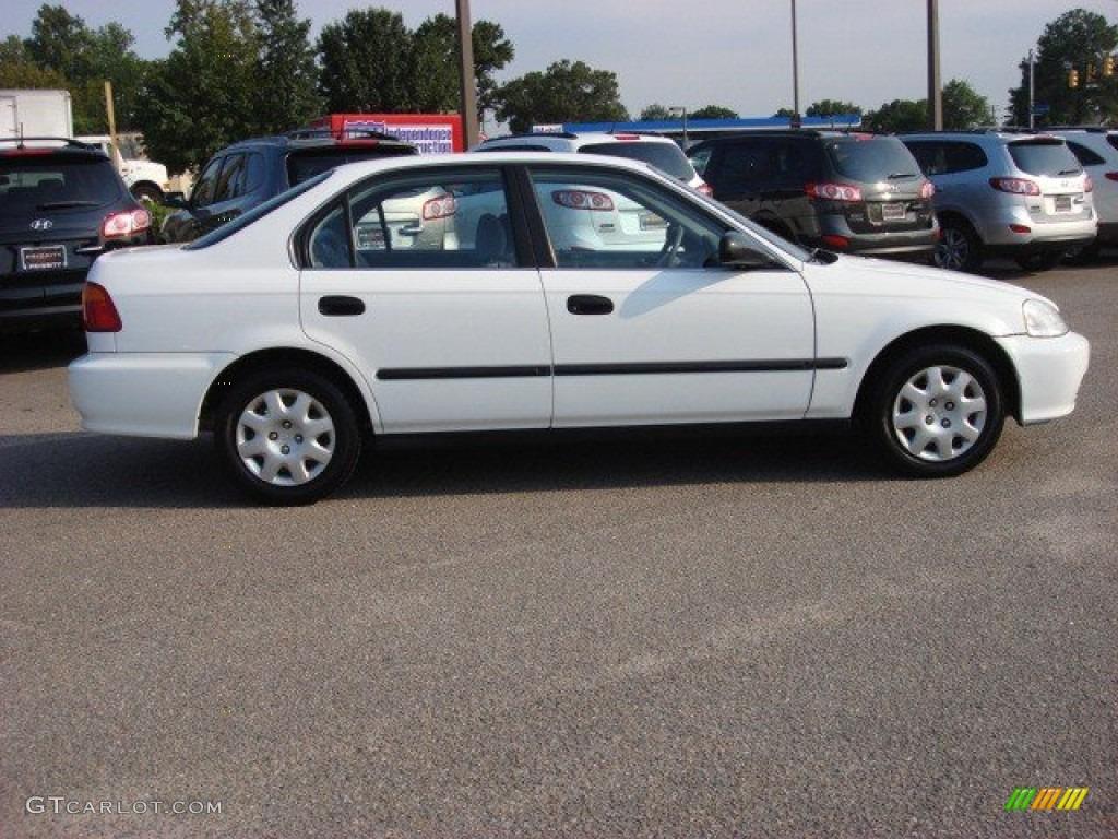 taffeta white 2000 honda civic lx sedan exterior photo