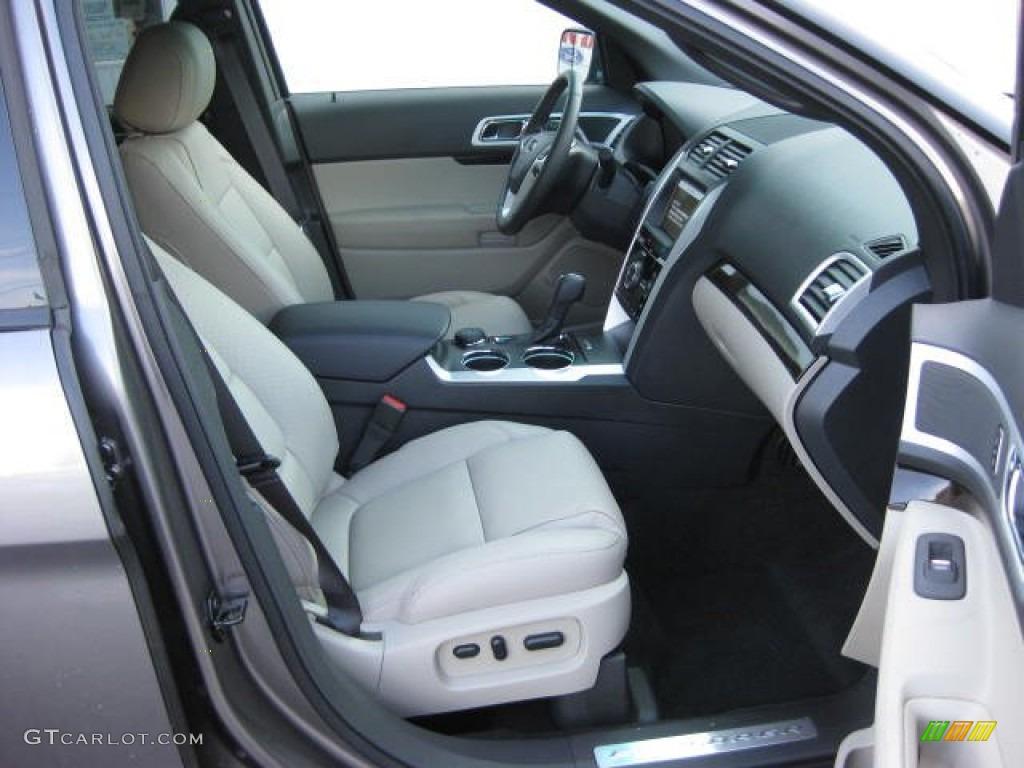 Medium Light Stone Interior 2012 Ford Explorer Limited 4wd Photo 52920939