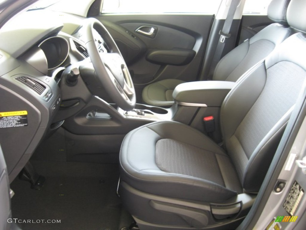 Black Interior 2012 Hyundai Tucson Gls Photo 52923634