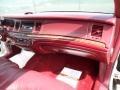 1995 Lincoln Town Car Dark Red Interior Dashboard Photo