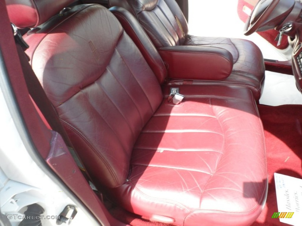 dark red interior 1995 lincoln town car executive photo 52925203. Black Bedroom Furniture Sets. Home Design Ideas