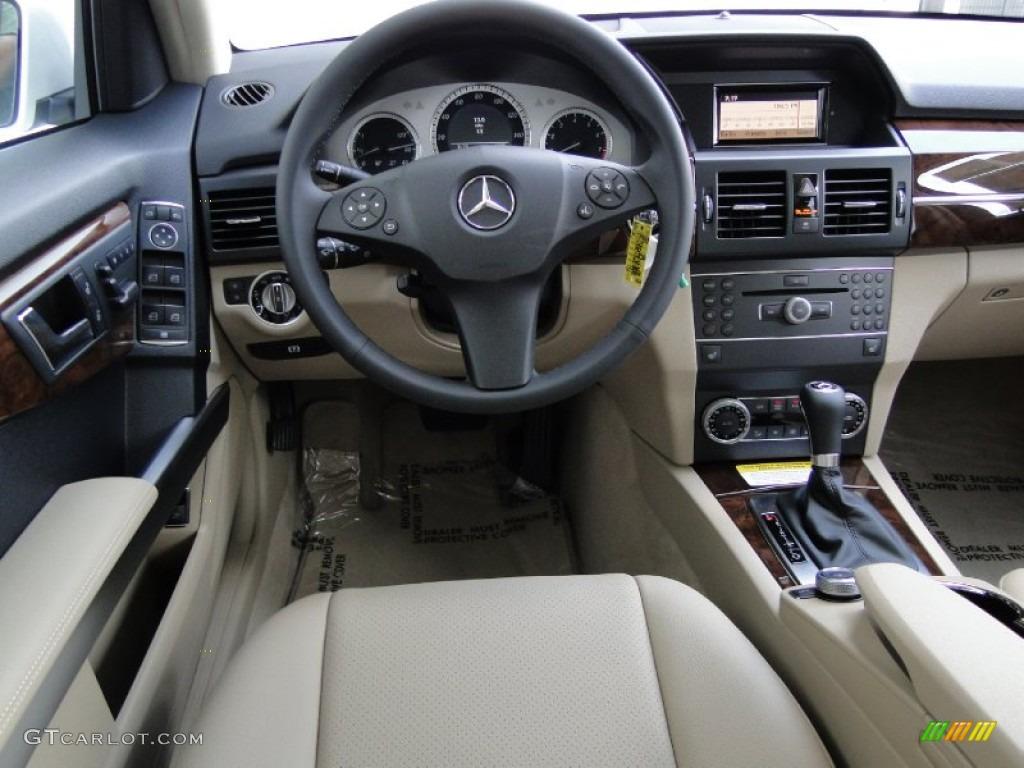 2012 mercedes benz glk 350 almond black dashboard photo for Mercedes benz dashboard