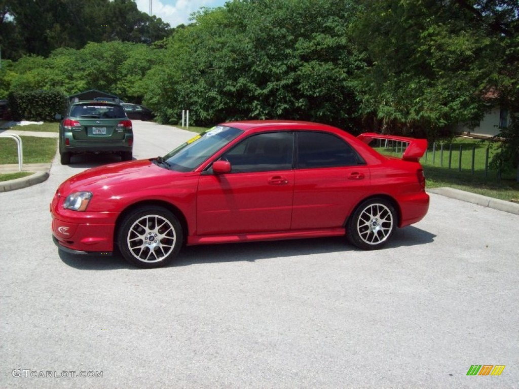 2004 san remo red subaru impreza 2 5 rs sedan 52816889 photo 3 car color. Black Bedroom Furniture Sets. Home Design Ideas