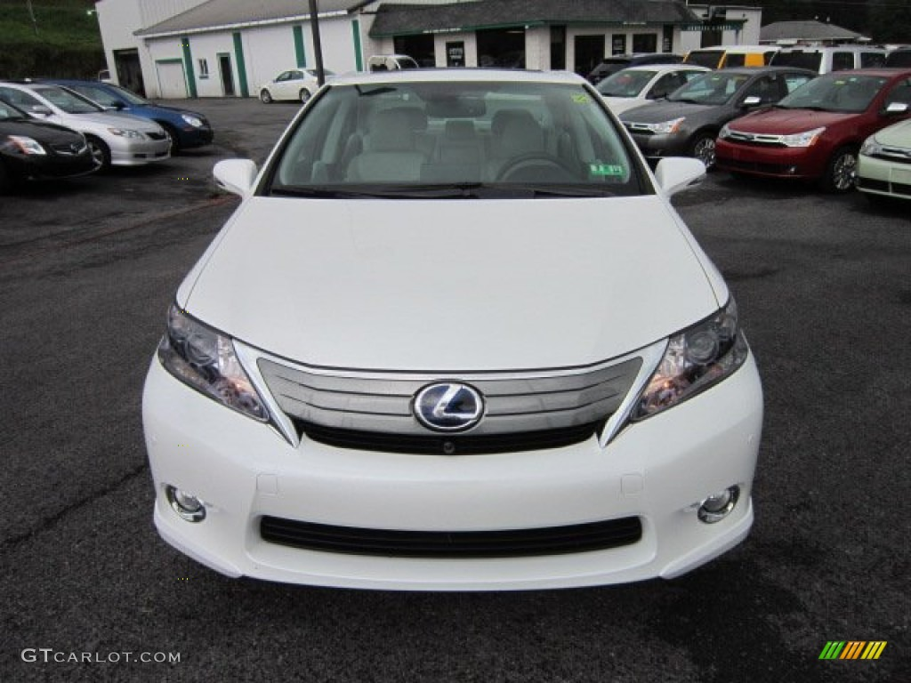 2010 starfire white pearl lexus hs 250h hybrid premium 52809503 photo 2 car. Black Bedroom Furniture Sets. Home Design Ideas