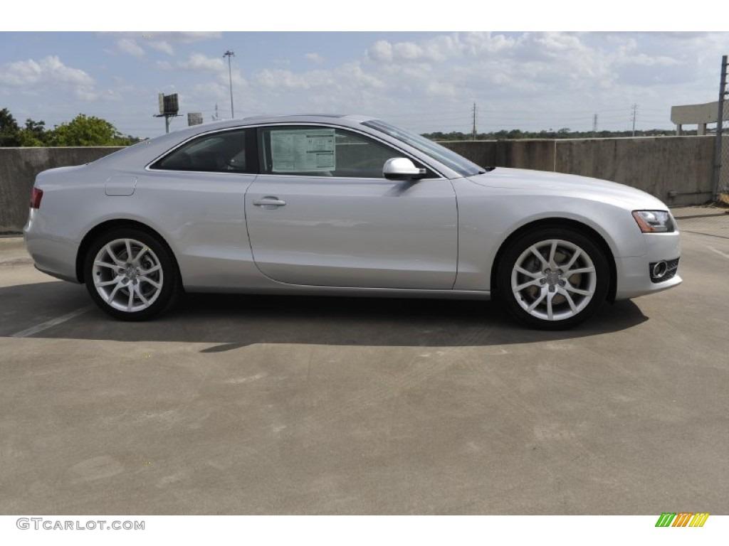 Ice Silver Metallic 2012 Audi A5 2 0t Quattro Coupe