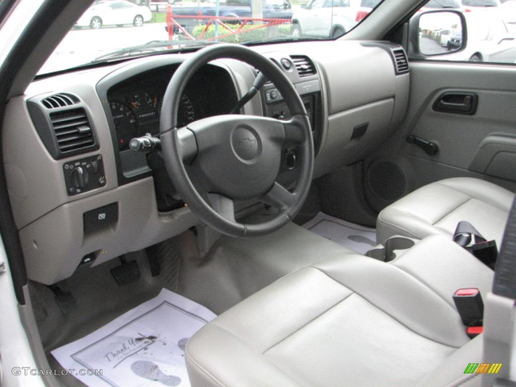 Medium Pewter Interior 2006 Chevrolet Colorado Extended Cab 4x4 Photo 52948059