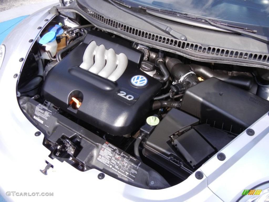 2002 Volkswagen New Beetle Gls Coupe 2 0 Liter Sohc 8v 4