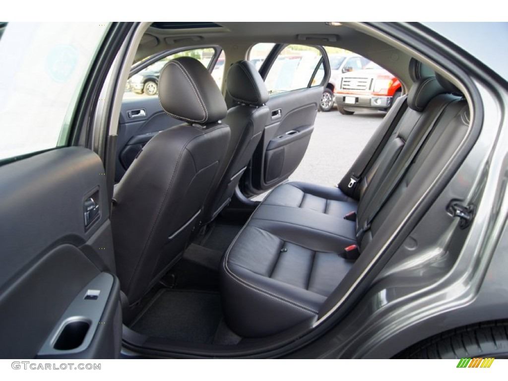 Charcoal Black Interior 2012 Ford Fusion SEL V6 Photo #52973185 ...