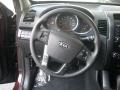 Black Steering Wheel Photo for 2012 Kia Sorento #52977888