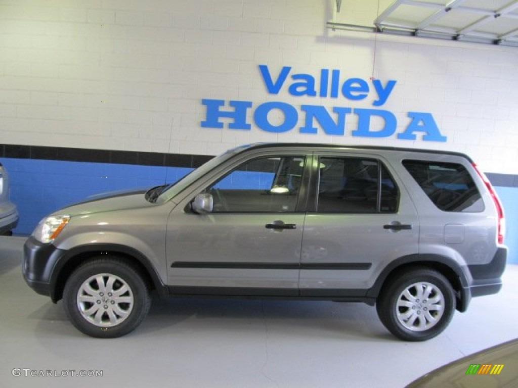 2005 Silver Moss Metallic Honda Cr V Ex 4wd 52971664