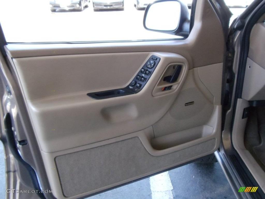 2001 Jeep Grand Cherokee Laredo 4x4 Taupe Door Panel Photo 52985167