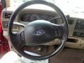 Medium Parchment Beige Steering Wheel Photo for 2003 Ford F250 Super Duty #52985875