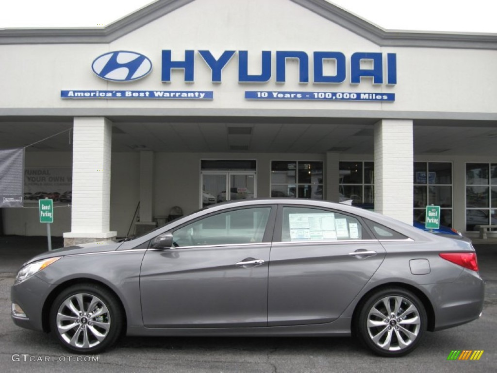 2012 Harbor Gray Metallic Hyundai Sonata Se 2 0t 52971680