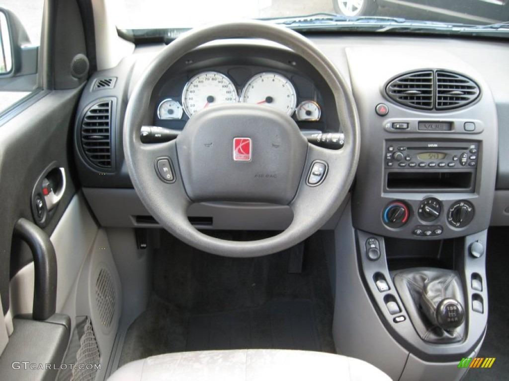2004 Saturn Vue Standard Vue Model Gray Dashboard Photo