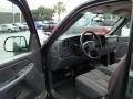 2005 Dark Green Metallic Chevrolet Silverado 1500 Regular Cab  photo #9