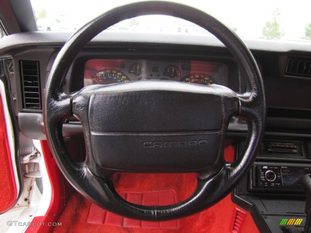 Chevy Truck Vin Decoder >> 1991 Chevrolet Camaro RS Red Steering Wheel Photo #53003401 | GTCarLot.com