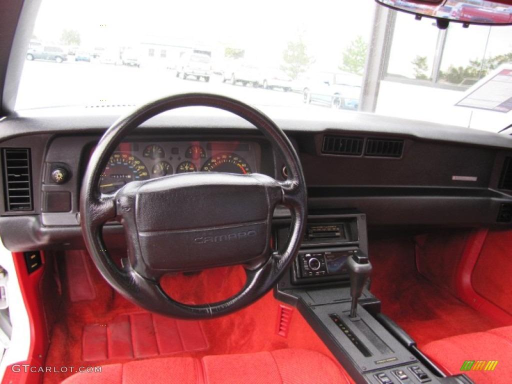 1991 Bright White Chevrolet Camaro RS 52971912 Photo 6