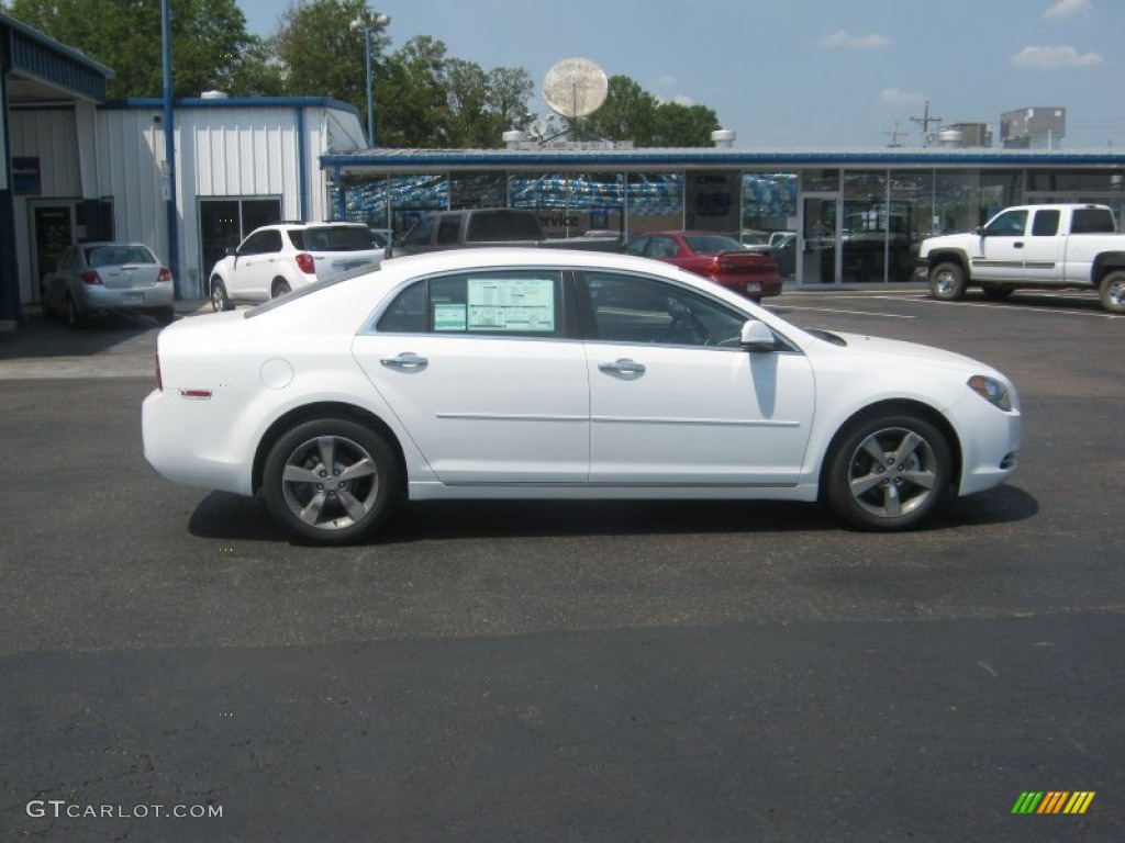 summit white 2012 chevrolet malibu lt exterior photo. Black Bedroom Furniture Sets. Home Design Ideas