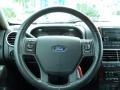 2007 Ford Explorer Black Interior Steering Wheel Photo