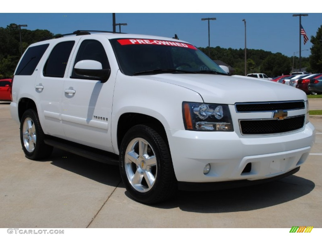 summit white 2007 chevrolet tahoe ltz exterior photo 53021810. Black Bedroom Furniture Sets. Home Design Ideas