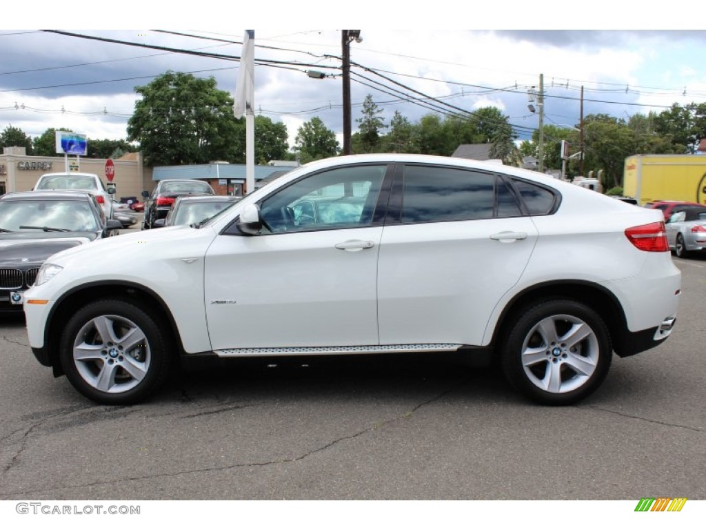 Alpine White 2011 Bmw X6 Xdrive35i Exterior Photo
