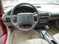 2001 Chevrolet Cavalier Neutral Interior Dashboard Photo