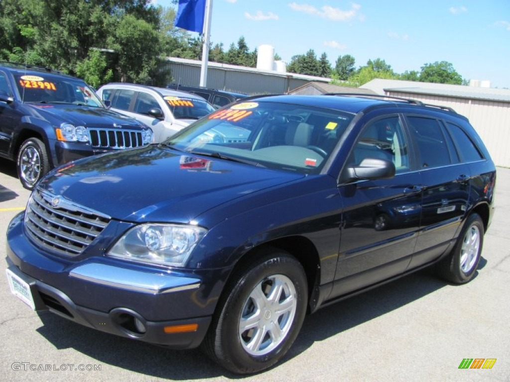 2005 midnight blue pearl chrysler pacifica touring awd 53005629 car color. Black Bedroom Furniture Sets. Home Design Ideas