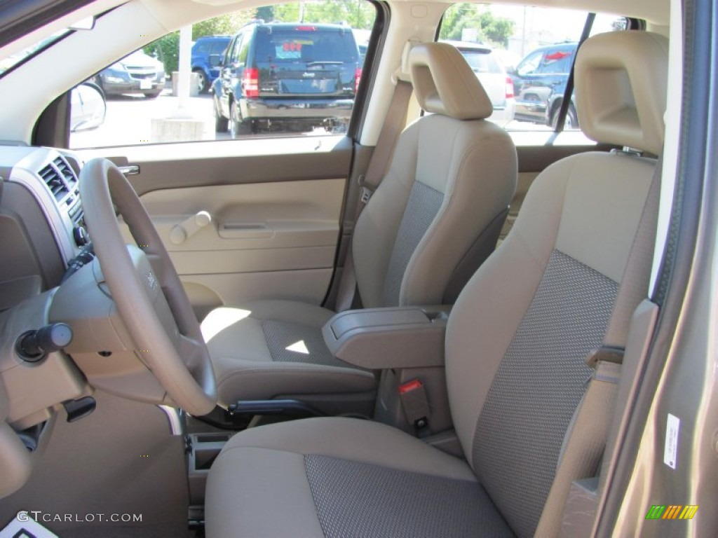 pastel pebble beige interior 2008 jeep compass sport photo. Black Bedroom Furniture Sets. Home Design Ideas