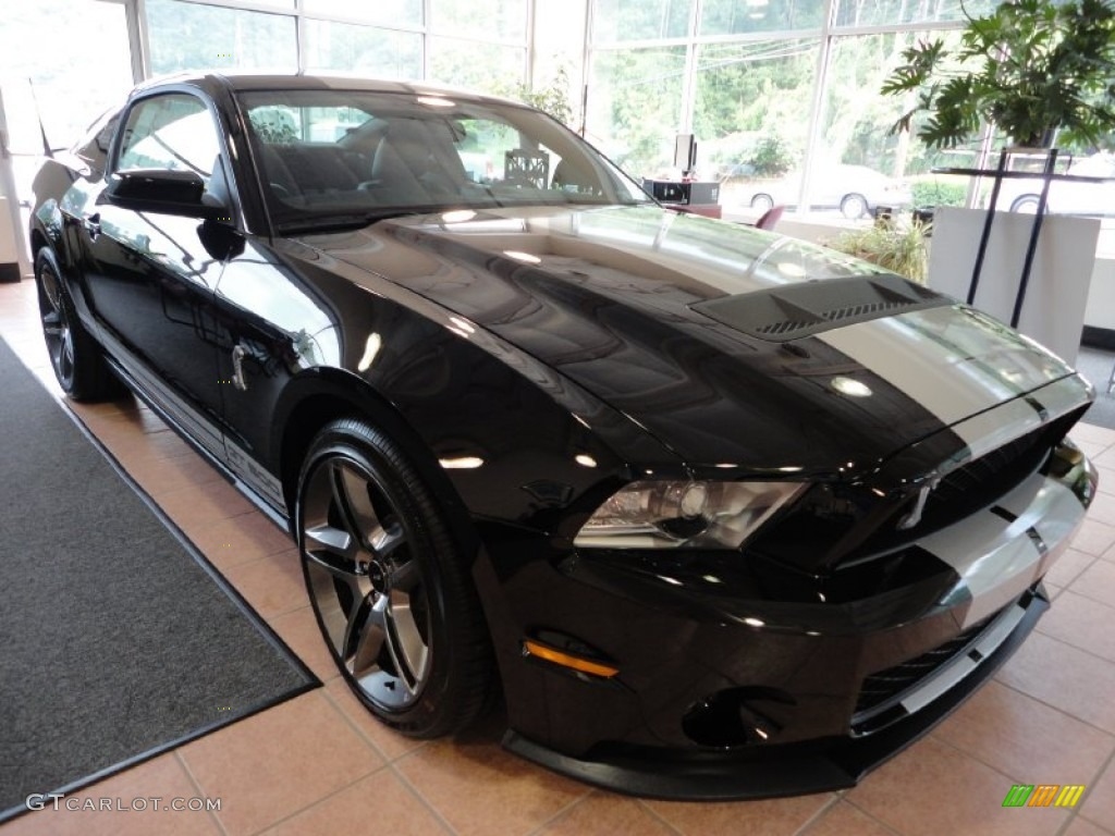 2012 black ford mustang shelby gt500 coupe 53005266 car color galleries. Black Bedroom Furniture Sets. Home Design Ideas