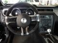 2012 Ford Mustang Charcoal Black/White Interior Dashboard Photo
