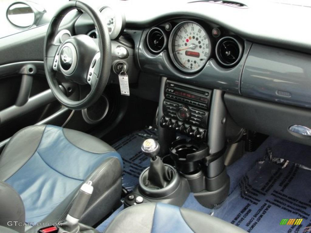 lapis blue panther black interior 2004 mini cooper s. Black Bedroom Furniture Sets. Home Design Ideas