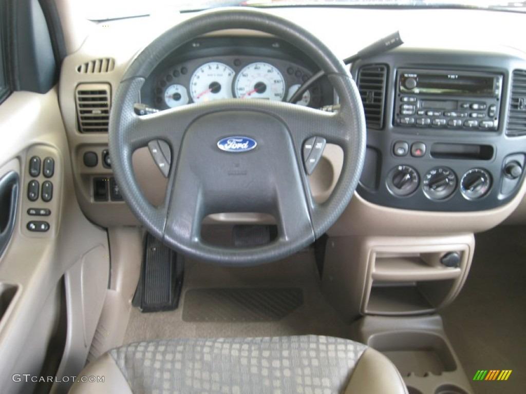 2002 Ford Escape Xls V6 Dashboard Photos Gtcarlot Com