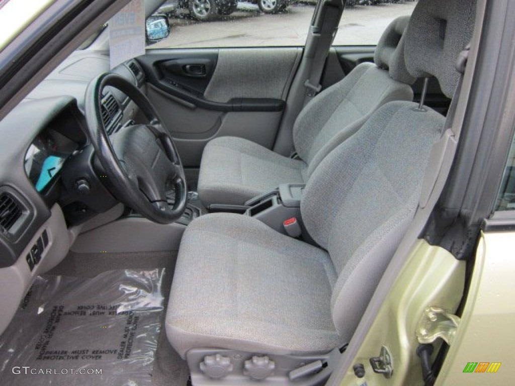 Gray Interior 2002 Subaru Forester 2 5 L Photo 53039639