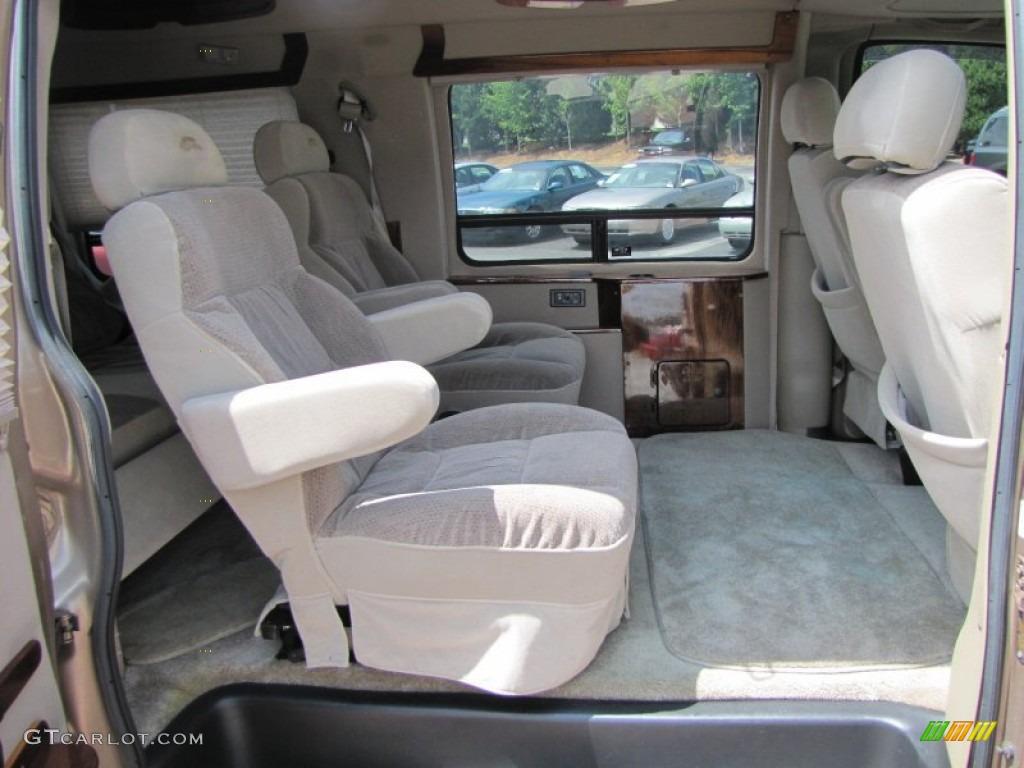 1999 GMC Savana Van G1500 Passenger Conversion interior ...